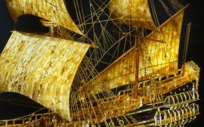 "Starovoitov S.I., Russia Model of the Swedish warship ""Vasa"", 2007"