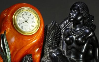 "Zhuravliov A.A., Russia Clock ""Day and Night"", 2006"