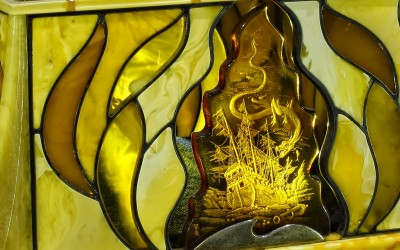 "Serov B.A., Iuritsyn A.P., Russia Casket ""The Golden Fish"", 2008"
