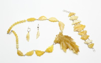 "Romanenko L.N. Jewellery set ""Summer 2"""