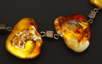 "Mishin V.N., Russia Necklace ""Silver blocks"", 2003"