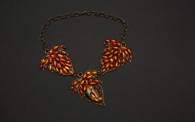 "Beletskaia T.V., Russia Necklace ""Paris in Autumn"", 2014"