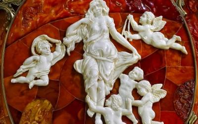 Krylov A.M., Russia Three-leaved table mirror. 2005