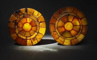 Author unknown Decorative plates. 17th century.