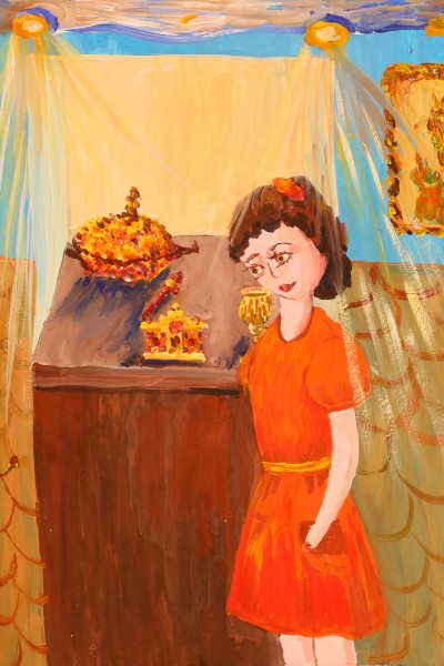 "Safrutina Varvara ""In the Amber Museum"""