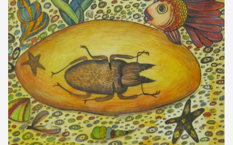 "Gasanova Veronika ""A beetle in amber"""