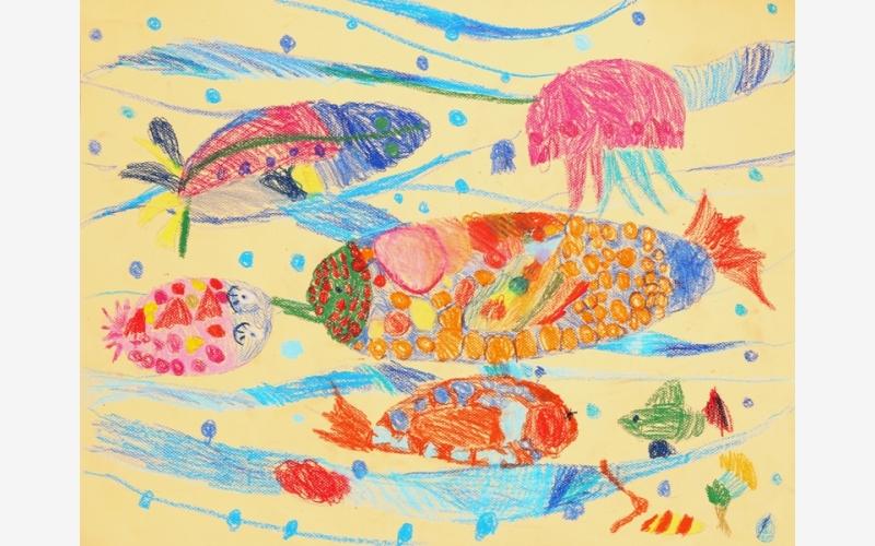 """Bespalova Rita """"Amber Fishes"""""""