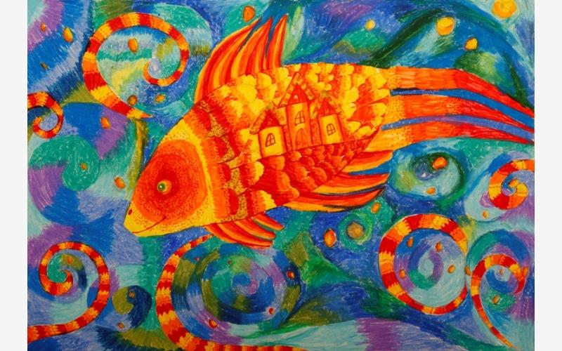 "Borovik Varvara ""Amber fish"""