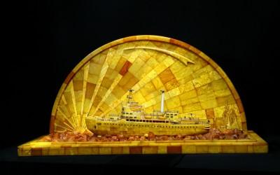 Митянин В.М., Горшков Г.Х., Квашнин А.И. , СССР Модель атомохода «Ленин», 1959