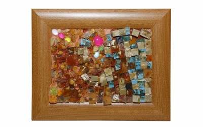 Сарсенбаева Д.Н. Мозаичная картина «Воспоминания о детстве»