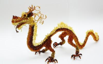 Яковлева Л.А. Интерьерная фигура «Китайский дракон»