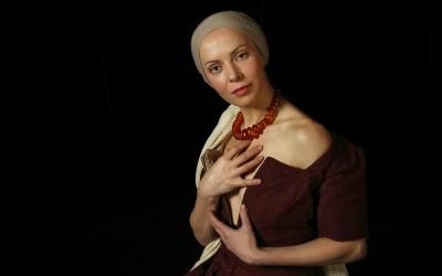 Неизвестный автор Бусы. XVIII в. Модель: Татьяна Слещенкова