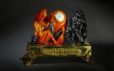 "Часы ""День и ночь"". 2006 Автор Александр Журавлёв (1943–2009) Санкт-Петербург"