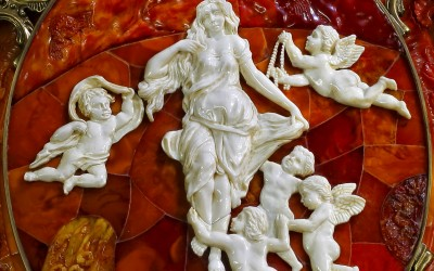 Зеркало трехстворчатое настольное. 2005 Автор Александр Крылов. Санкт-Петербург