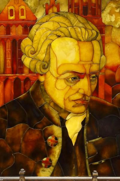 Портрет Иммануила Канта. 2005 Автор Александр Журавлев (1943–2009). Санкт-Петербург
