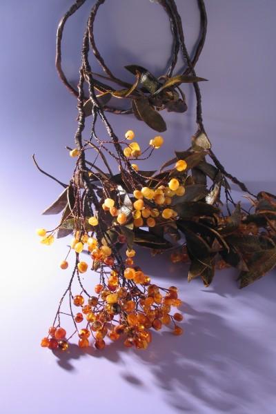 Пояс «Гроздья рябины». 2007 Автор Елена Градинарова, Калининград